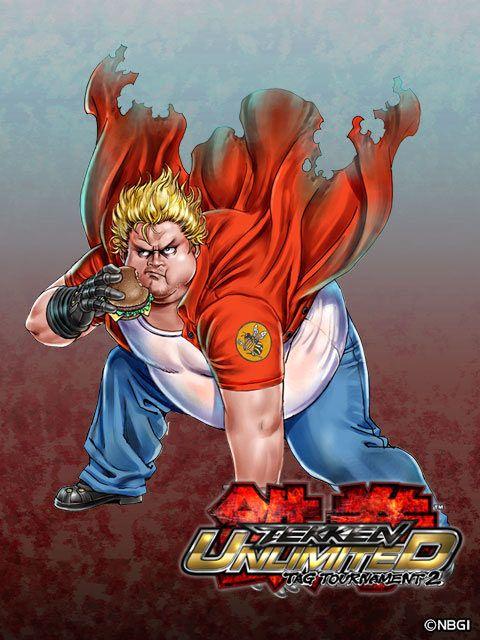 人气画师山下纯也出品 萌到爆的《铁拳TT2》插画