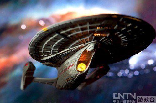 国工程师打造超科幻 星际战舰 送人类至火星图片