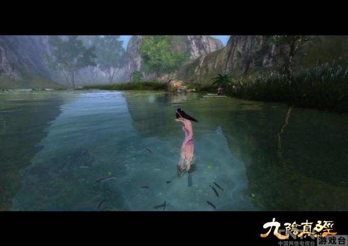 《九阴真经》性感美女再现极度沉鱼之美尤物泳装蓉大图片
