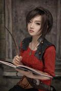 韩国《暗黑3》华丽COS赏 螺旋猫化身莉娅