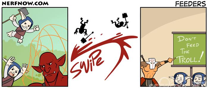DotA2趣味漫画 血魔想入非非 赏金精打细算