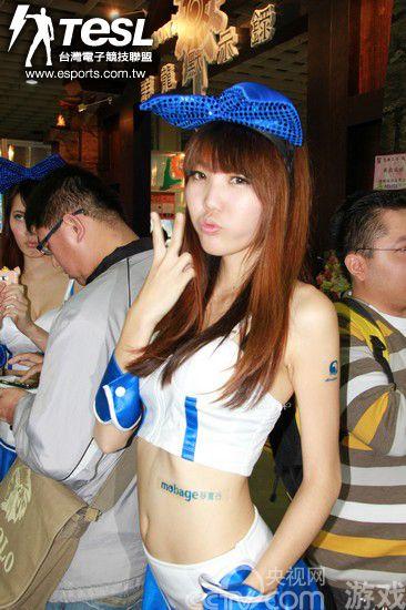 台湾TGS电竞电玩展现场美女图赏 2