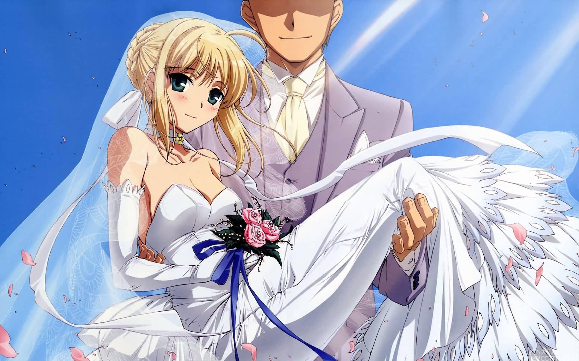 唯美动人《百万亚瑟王》之二次元婚纱照大盘美女精光:图片