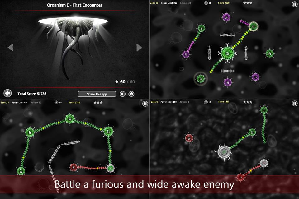 另类策略游戏 触手大战 游戏