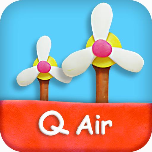空气质量推送应用 qair空气监测站
