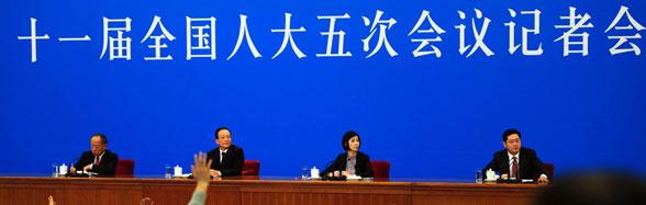 温家宝总理会见中外记者并回答记者提问