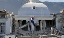 2010年1月12日:海地发生里氏7.3级地震,震中距离首都太子港约16公里,震源深度8公里,是海地200年来最强地震。地震造成超过10万人遇难。