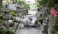 2008年6月14日:日本东北地区发生的里氏7.2级地震,造成10人死亡,受伤人数超过260人。此次地震的摇晃强度与日本1995年阪神大地震相当。