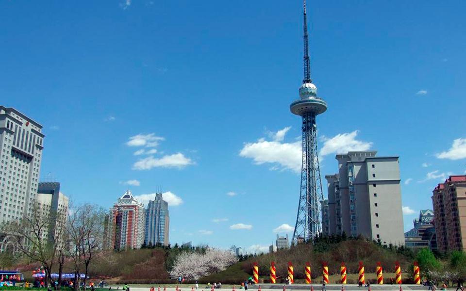 龙塔,即黑龙江省广播电视塔,是东北城市哈尔滨的标志性建筑.