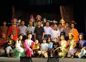 <center>戏校实验剧团50余次赴台湾金门演出</center>