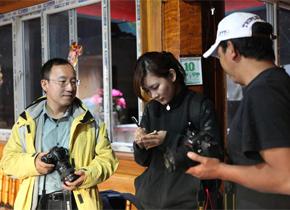 <center>记者探访香格里拉东旺乡藏文化</center>