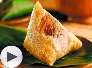 海南儋州:靠特色赚钱的花色粽子