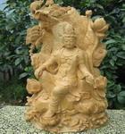 《五莲观音》木雕