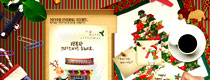 <font color=indianred><center>圣诞卡(Christmas card)</center></font><br>