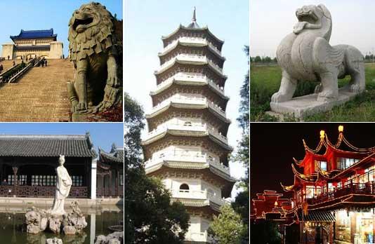 <font color=Bright yellow><b>Nanjing: Una antigua capital en el río Qinhuai</font></b>