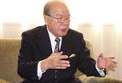 <b> Morihiko Hiramatsu  </b> <br> de Japón, quien aplicó la acción &quot;una aldea, un producto&quot; y ayudó a muchos campesinos chinos a salir de la pobreza