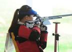 <font color=red>第14金:</font>女子50米步枪3种姿势团体决赛 中国队夺冠