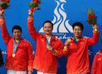 <font color=red>第15金:</font>中国队获男子25米中心发火手枪团体金牌