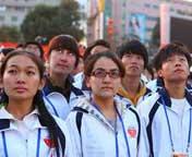 新疆举行盛大升旗仪式庆国庆