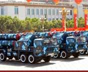 国产红旗9地空导弹方队