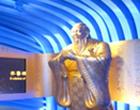 """山东馆亮点:圣贤智慧  <br></a><a href=http://news.cntv.cn/xianchang/20100414/101529_2.shtml target=_blank>""""鲁班锁""""夺人眼球"""