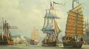 历史上来自美国的第一艘商船