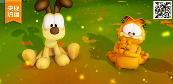 """《加菲猫的幸福生活》和小伙伴欧迪一起""""恶作剧"""""""