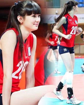 日本演艺圈欲邀哈萨克排球美女拍写真