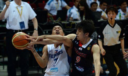 [高清组图]亚锦赛-菲律宾19分大胜日本 多希特两双