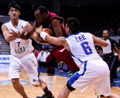 [高清组图]男篮亚锦赛 中华台北不敌卡塔尔