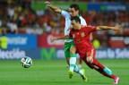[高清组图]热身赛:托雷斯破门 西班牙2-0弱旅