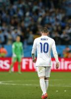 [高清组图]小组赛憾负乌拉圭 英格兰落寞瞬间
