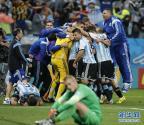 [高清组图]阿根廷队闯入决赛 荷兰人惜败12码