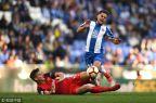 [高清組圖]武磊打滿全場屢造威脅 西班牙人0-1負