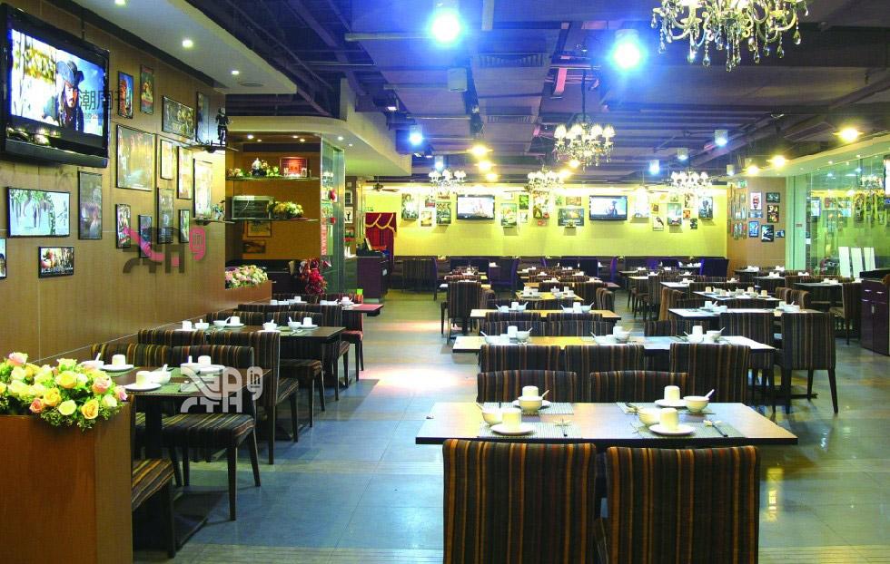 电影主题餐厅图片