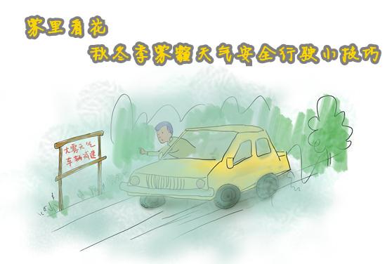 雾霾天气安全行驶小技巧