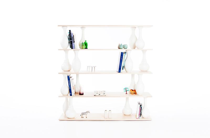 Vase Shelves 拼装货架