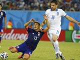 [世界杯]一场平局两个希望 日本战平希腊