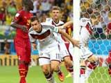 [世界杯]克洛泽书写历史 德国战车逼平加纳