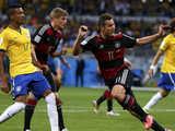 [世界杯]半决赛:巴西1-7德国 比赛集锦