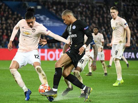 [歐冠]1/8決賽次輪:巴黎圣日耳曼VS曼聯 下半場