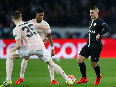 [欧冠]1/8决赛次轮:巴黎圣日耳曼VS曼联 上半场