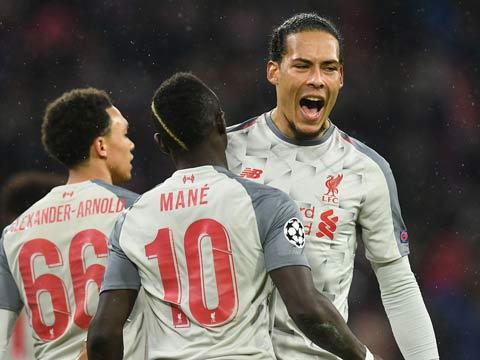 [歐冠]1/8決賽次回合:拜仁VS利物浦 上半場