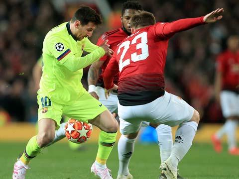 [欧冠]1/4决赛首回合:曼联VS巴塞罗那 下半场