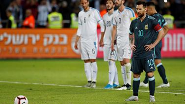 [圖]熱身-梅西傳射建功+點球絕平 阿根廷2-2烏拉圭
