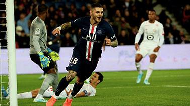 [圖]內馬爾復出伊卡爾迪連場破門 巴黎2-0里爾