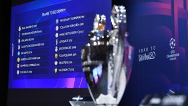 [圖]歐冠抽簽-皇馬碰曼城 拜仁遇切爾西