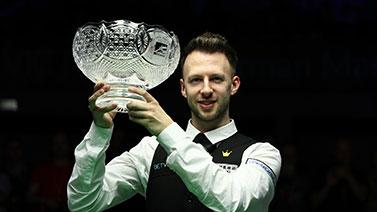 [图]德国赛特鲁姆普9-6罗伯逊 获排名赛第15冠