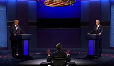 《今日关注》 20200930 总统大选辩论折射内政混乱 美军加剧海外扩张难掩内讧