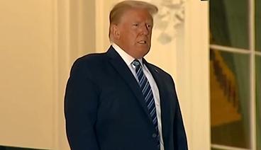 """《今日关注》 20201010 特朗普重回竞选 白宫现""""超级传播事件""""?"""